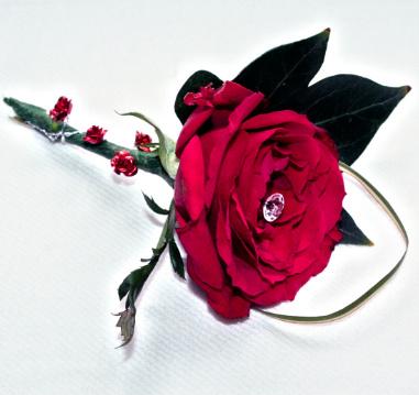 button-hole-loughborough rose button hole